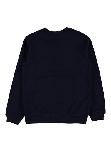 Morhipo Kids O Yaka Baskılı Sweatshirt Lacivert